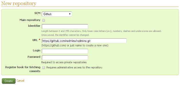 Using Github repositories with Redmine – Andriy Lesyuk site