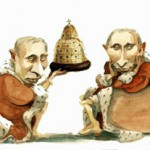 Карикатура Рибера Хансона